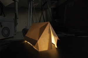 Paper Tent Models . (soon to be made out of Calico) : paper tent - memphite.com